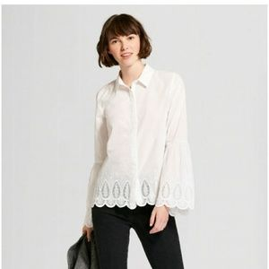 Tops - Cotton Bell Cuff Sleeve